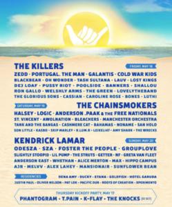 Hangout Music Festival Lineup 2018